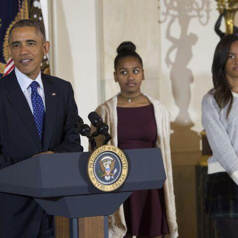 Malia Obama a un peu honte de son père