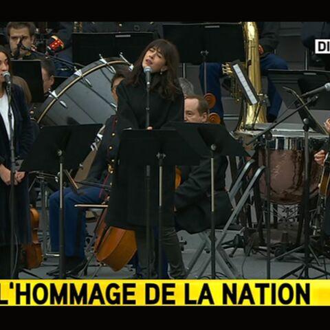 Camelia Jordana, Yael Naim et Nolwenn Leroy chantent Quand on a que l'amour