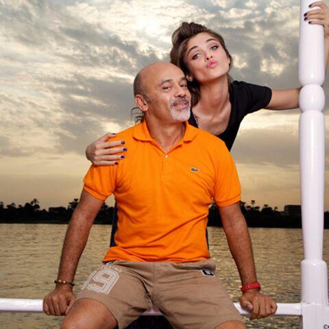 acheter populaire 8f5b8 fb2bb Christian Louboutin engagé aux côtés d'Elisa Sednaoui - Gala