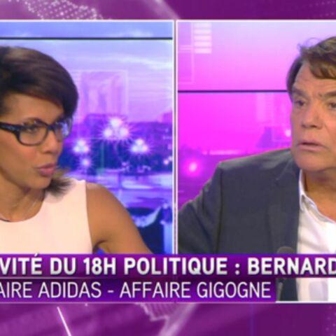Bernard Tapie s'emporte contre Audrey Pulvar