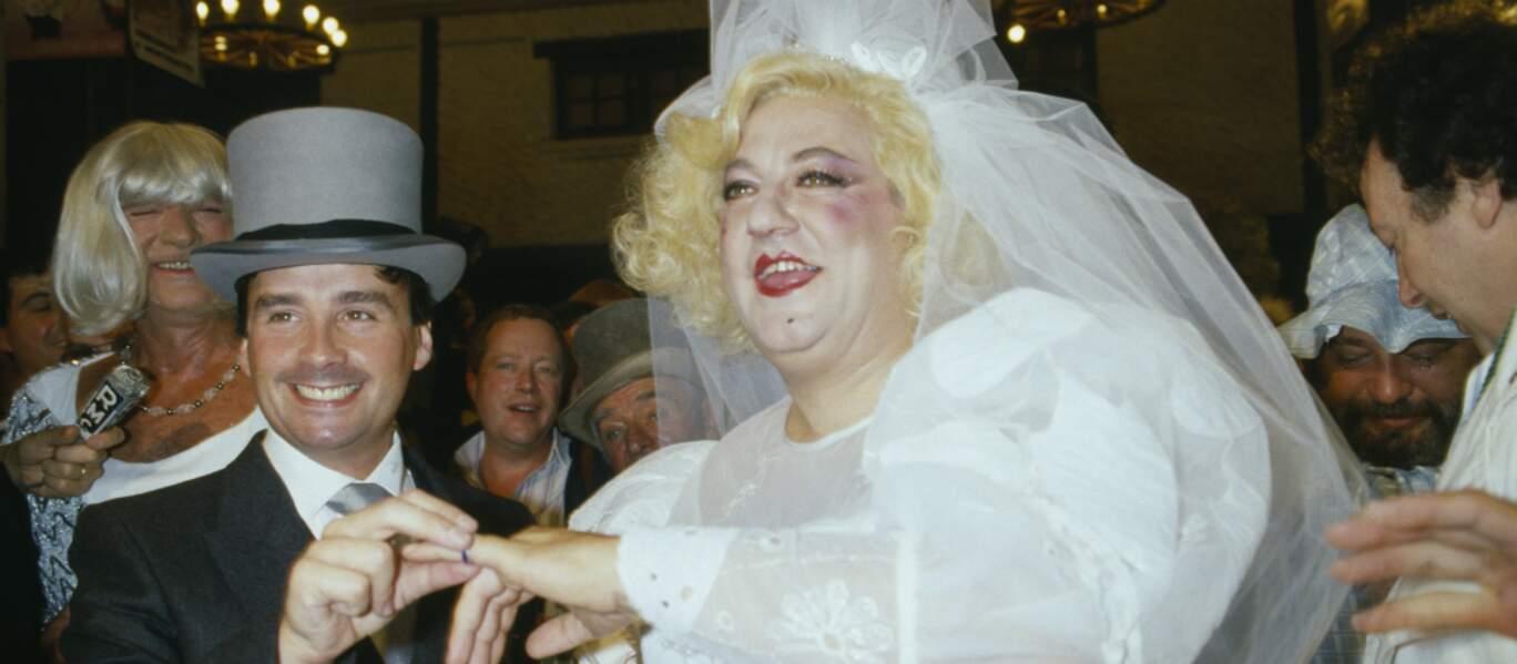 Mariage de Thierry Le Luron et Coluche (1985)