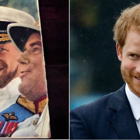PHOTO- Le prince Harry a un sosie : son grand-père le prince Philip !