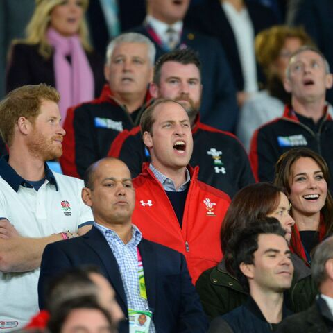 Coupe du monde de rugby: La joie de Kate et William, la tristesse d'Harry