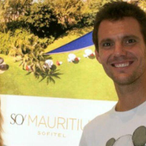 Paul-Henri Mathieu et son épouse en lune de miel à l'Ile Maurice