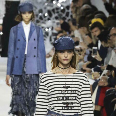 PHOTOS – Paris Fashion Week: Focus sur le regard sixties de Dior