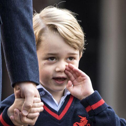 A 4 ans, le prince George ne veut déjà plus aller à l'école