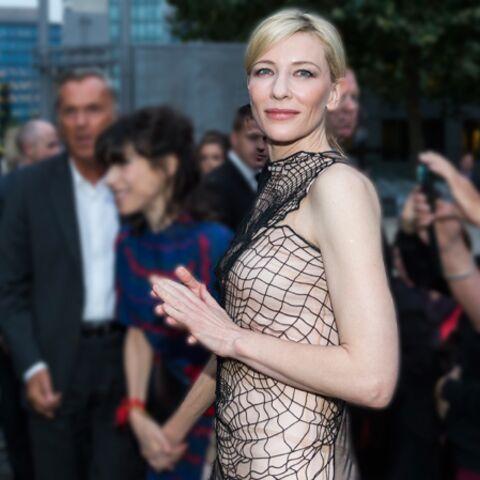 Cate Blanchett tisse sa toile à Paris