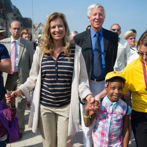 Valérie Trierweiler, bain de foule avec 5000 enfants