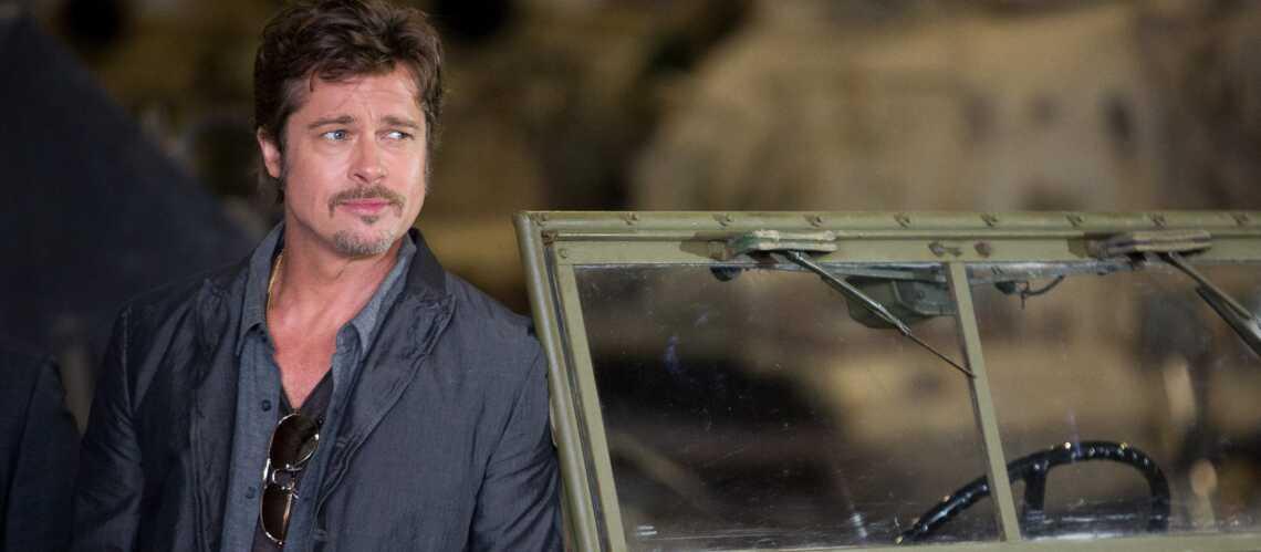 Photos- Brad Pitt, jeune marié, exhibe son alliance