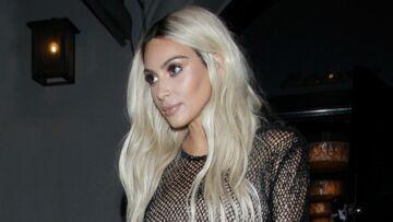Kim Kardashian se réinvente blonde pour Kanye West