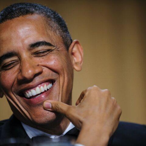 Barack Obama se paye une tranche de rire