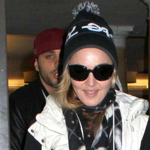 Madonna fait du ski… pour la première fois!