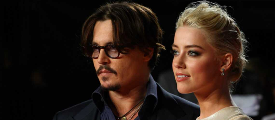 Johnny Depp et Amber Heard, un mariage les pieds dans le sable