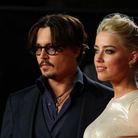 Johnny Depp, l'amour à la plage