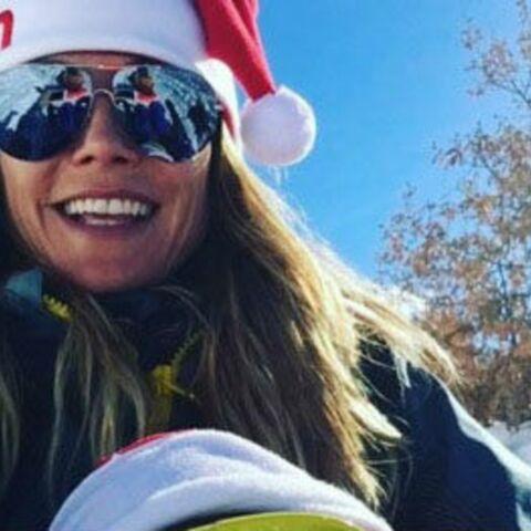 PHOTOS – Shy'm, Laury Thilleman, Heidi Klum… Les stars au ski pour les fêtes