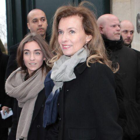 Valérie Trierweiller, première sortie chez Dior