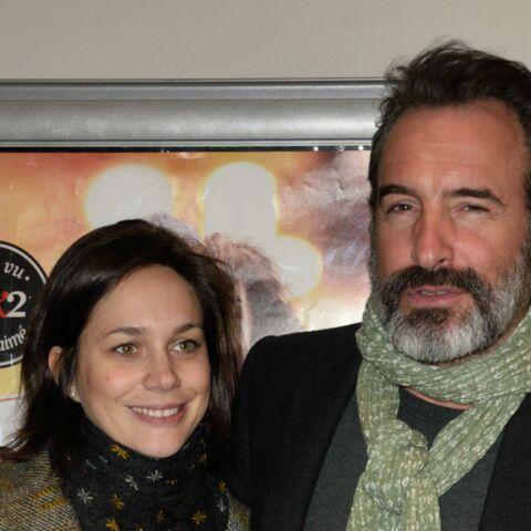 PHOTOS- Jean Dujardin et Nathalie Péchalat en amoureux au cinéma