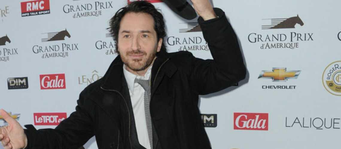 Edouard Baer, spectateur VIP du prix d'Amérique