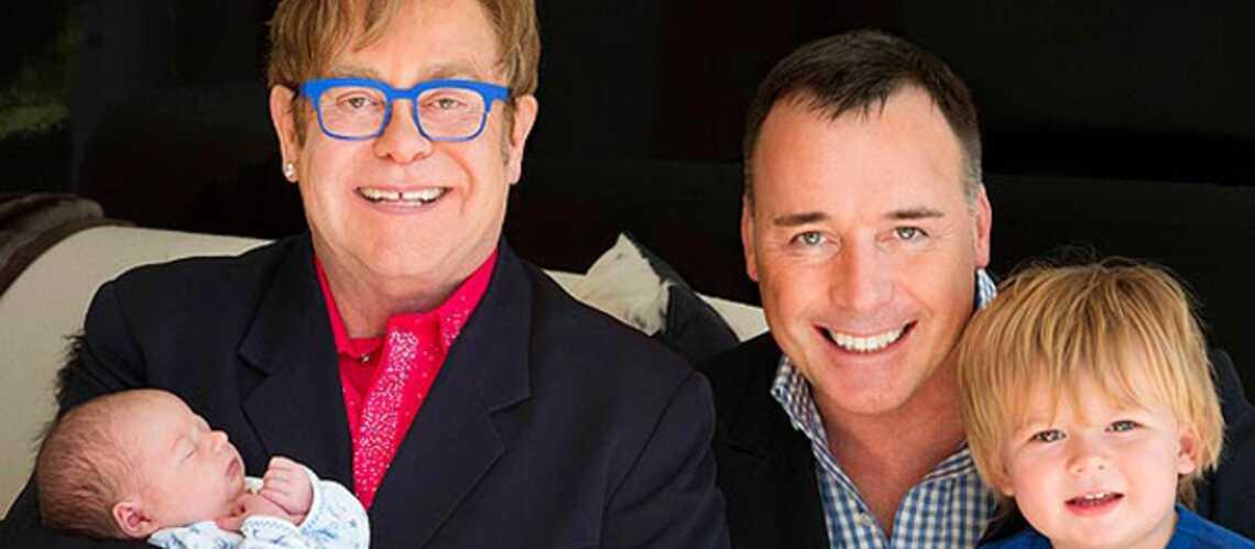Elton John raconte sa seconde paternité