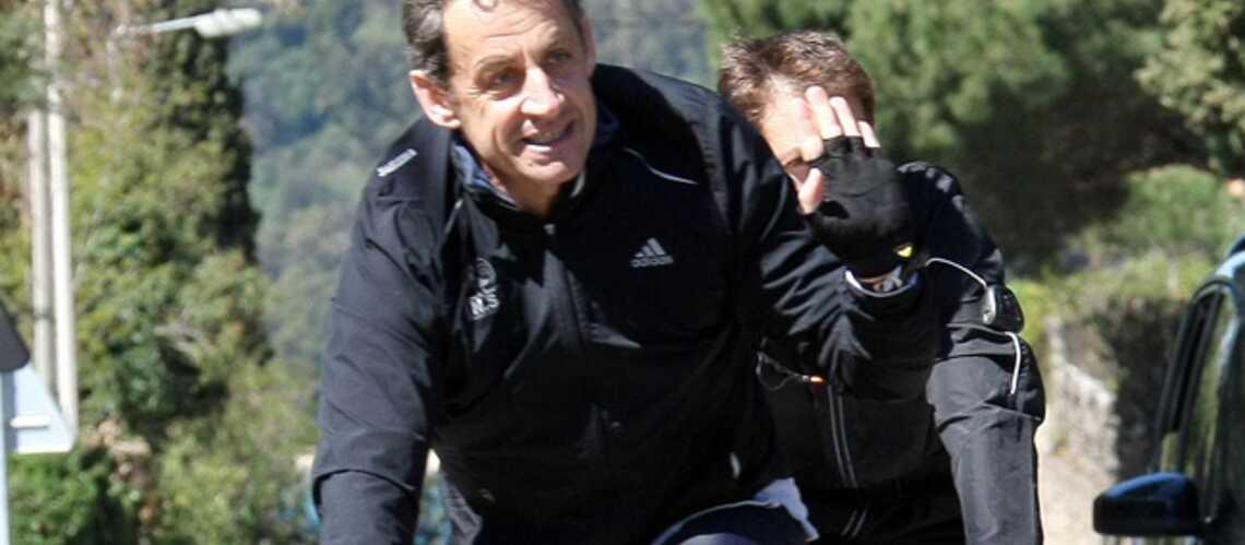 Un nouveau vélo pour Nicolas Sarkozy