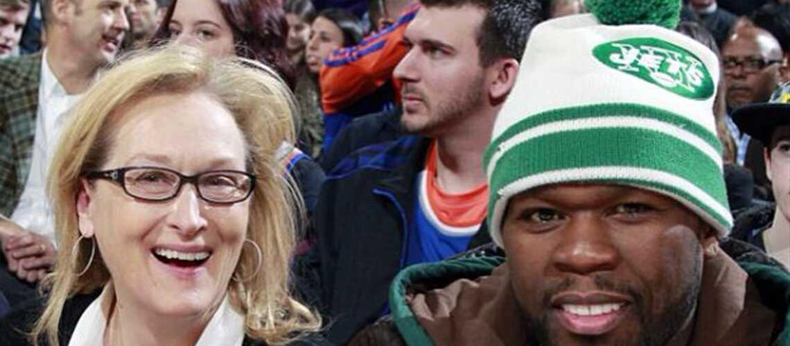Meryl Streep et Fifty Cent: copains comme cochons!
