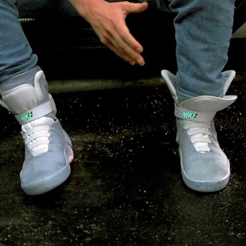 La Nike Air Mag de Marty McFly commercialisée en 2015