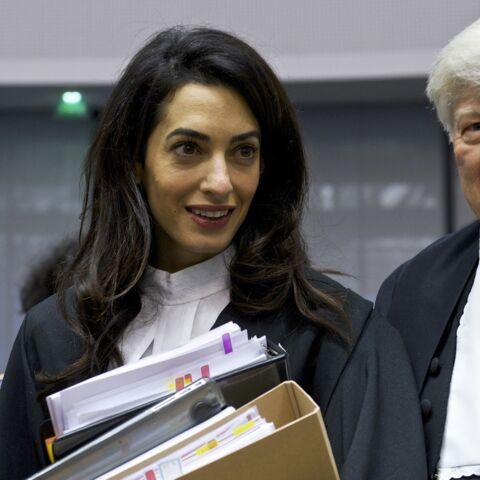 Amal Alamuddin plaide à Strasbourg