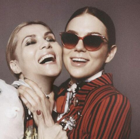 Emmanuelle Seigner et Morgane Polanski, fous rires pour Marc Jacobs