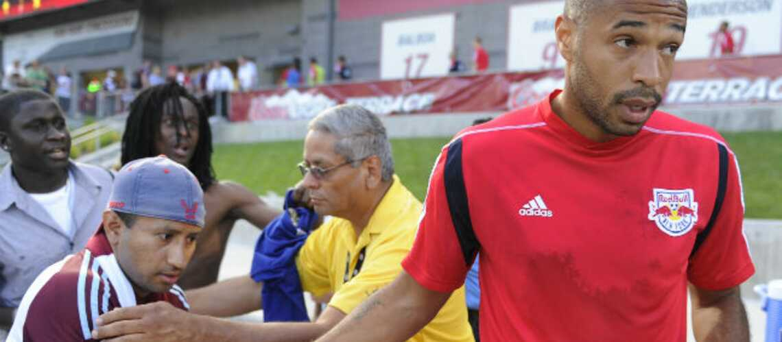 Thierry Henry, son fils dans la peau