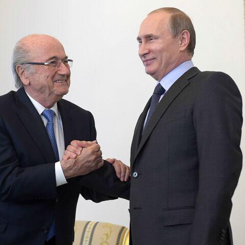 Pour Vladimir Poutine, Sepp Blatter mérite un prix Nobel