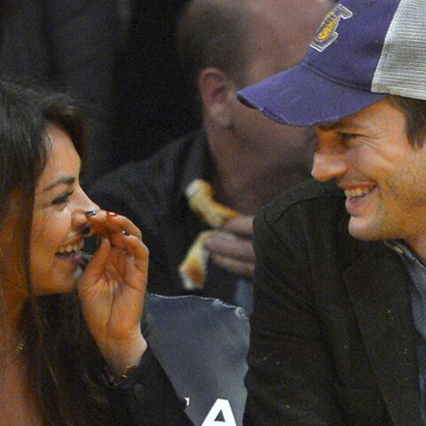 Les alliances à 90$ d'Ashton Kutcher et Mila Kunis