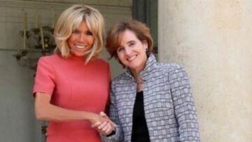 PHOTOS – Brigitte Macron: élégante et pétillante dans une robe rose Louis Vuitton à 2000 €