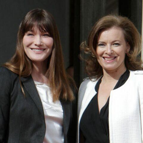 Carla Bruni-Sarkozy: ce qu'elle pense de Valérie Trierweiler