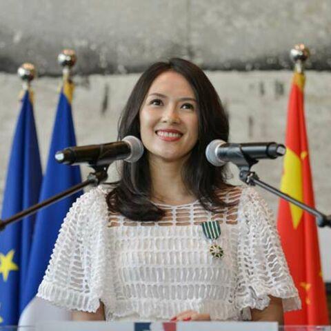 Zhang Ziyi décorée par la France