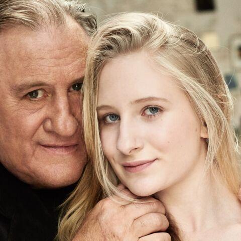 Exclu Gala – Gérard Depardieu présente Louise, sa petite-fille
