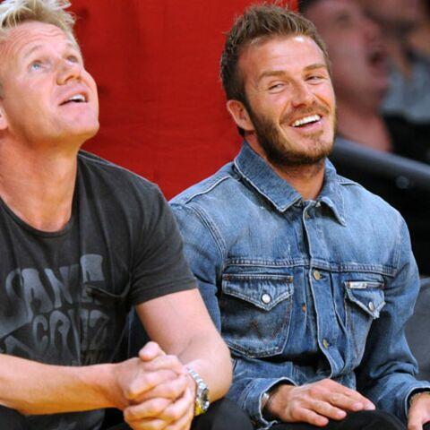 David Beckham et Gordon Ramsay vont ouvrir un restaurant à Las Vegas