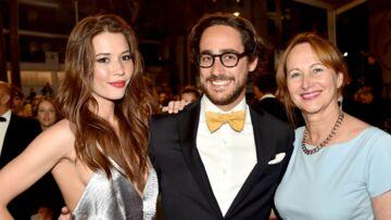 PHOTOS – Thomas Hollande monte les marches avec sa chérie et sa mère Ségolène Royal