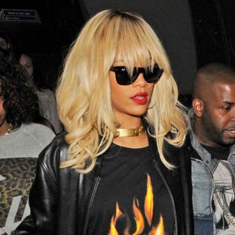 Rihanna s'énerve quand on lui parle de Chris Brown