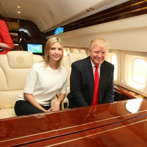 Donald Trump: «si fier» d'être grand-père
