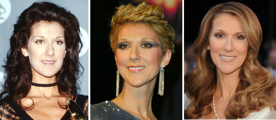 PHOTOS – Céline Dion fête ses 50 ans: toutes ses coupes de cheveux à travers les années