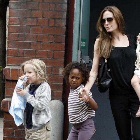 Angelina Jolie, sa mère comme modèle