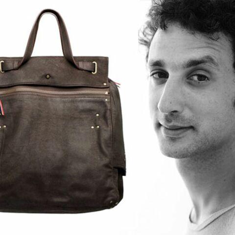 Le it-bag au masculin par Jérôme Dreyfuss