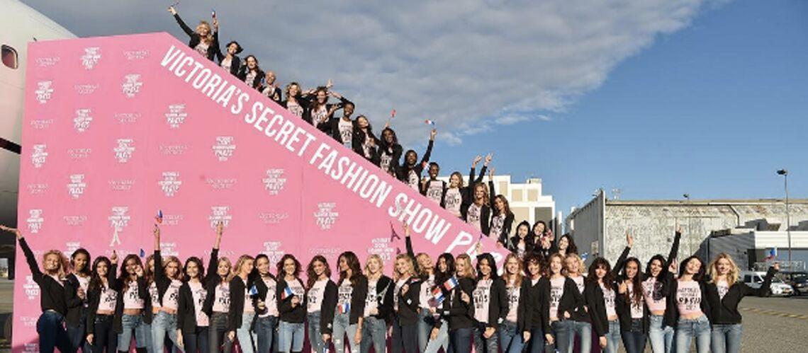 PHOTOS: Bella Hadid, Kendall Jenner…les Anges de Victoria's Secret débarquent à Paris