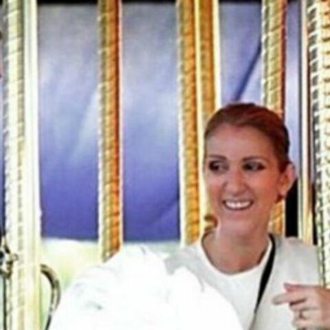 PHOTOS – Céline Dion et René-Charles, ultraprotecteurs avec les jumeaux Nelson et Eddy
