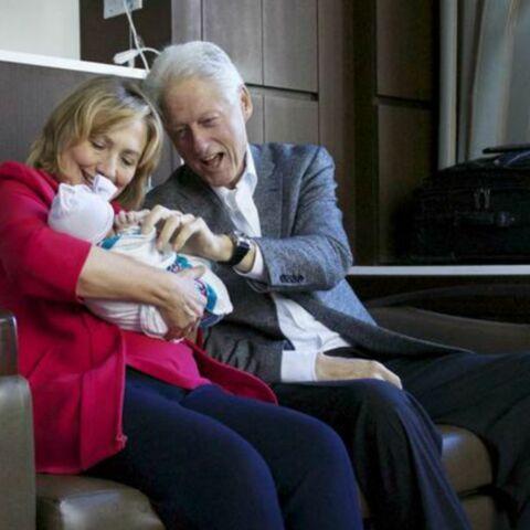 Bill Clinton: «Charlotte, ta grand-mère et moi ne pouvions pas être plus heureux!»
