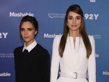 Victoria Beckham et Rania de Jordanie, la rencontre