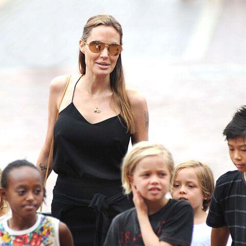 Angelina Jolie et Brad Pitt: et les enfants dans tout ça?