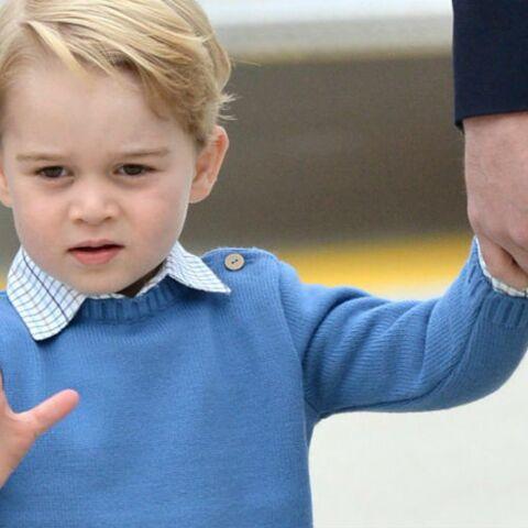 Le prince George: Au Canada, il saccage avec sa soeur la maison où il est hébergé