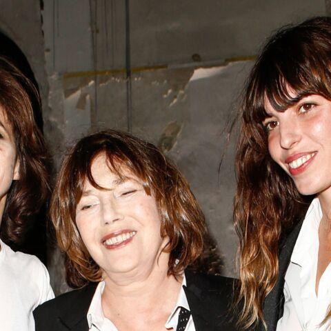 Paris Fashion Week – Jane Birkin et ses filles réunies chez Saint Laurent