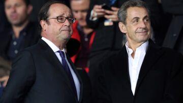 PHOTOS – PSG/Bayern Munich: François Hollande et Nicolas Sarkozy refont le match au Parc des Princes